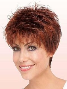 Youthful+Short+Straight+Capless+Synthetic+Wig