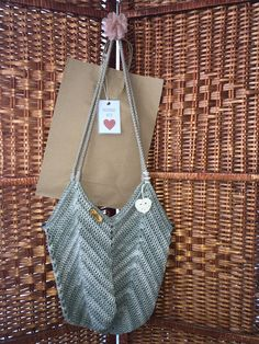 Longchamp, Tote Bag, Tank Tops, Crochet, How To Make, Handmade, Bags, Women, Style