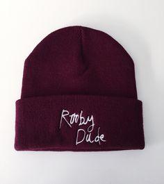 Image of Burgundy Beanie Hat