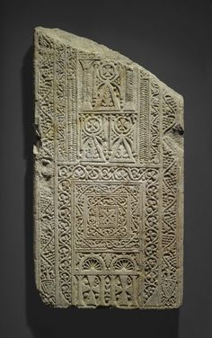 Fragmentary Stela  These two Christian stelae, made after the Arabs conquered Egypt in 642 c.e., reflect new styles from the East.  http://cdn2.brooklynmuseum.org/images/opencollection/objects/size3/71.39.1_PS1.jpg  .:.