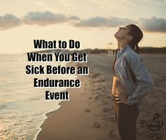 Do. Not. Panic. What to do instead when you get sick before a big race. | Fit Bottomed Mamas