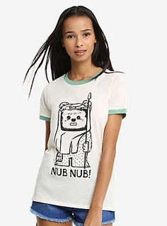 Star Wars Ewok Nub Nub T-Shirt, MULTI
