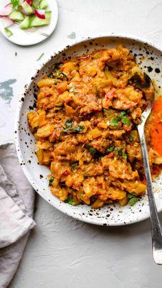 Pakistani Zucchini (Courgette) Curry | Toriyan (Torai ki Sabzi) - teaforturmeric
