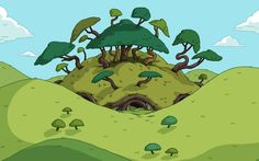 adventure time environment - Google Search
