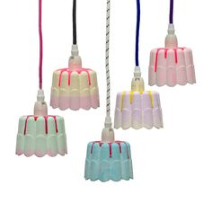 LEF collection pudding lampjes. Cute! www.wonenmetlef.nl
