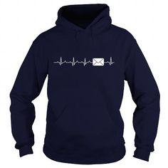 Awesome Tee Mail heartbeat T shirts