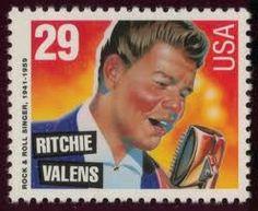 Richie Valens Stamp