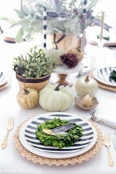 Fall Table Ideas- Ju