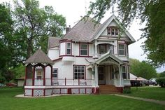 schuerenberg house | 1900 Queen Anne – Marcus, IA (George F. Barber) This is a George F ...