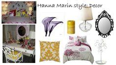 Hanna marin PLL bedroom style decor mirror cushion bed