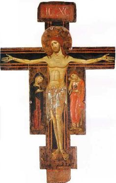 Crocifisso di Fucecchio di Berlinghiero Berlinghieri1230-1235Museo nazionale di San Matteo, Pisa