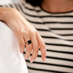 Elegant ring by Wouters & Hendrix.