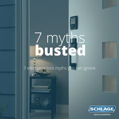 7 keyless lock myths you can ignore.