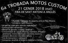 6ª Trobada Motos Custom, en Anglés, Gerona