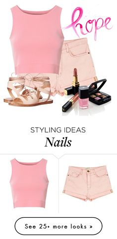 """""""Untitled #351"""" by the-luxurious-glam on Polyvore featuring Current/Elliott, Steve Madden, Glamorous and Chanel"""
