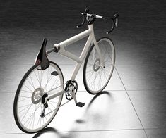 Saddle Seat Locking Bike. A flip of the seat and your bike is secure.
