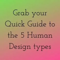Find Your Natural Groove Human Design