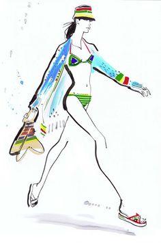 Illustration by Jacqueline Bissett