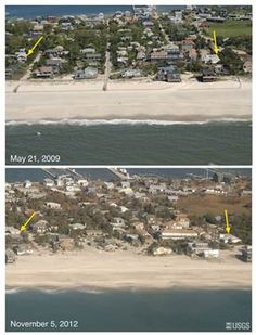NY's Fire Island saved from Sandy by dunes, but those are gone now - U.S. News