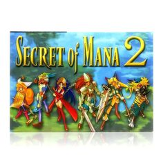 Secret of Mana 2 SNES Super Nintendo game, includes box and game cartridge only. Cleaned, tested and comes with a FREE box protector! Super Nintendo Console, Super Nintendo Games, Secret Of Mana, Years Passed, Free Boxes, Destruction, Nintendo Consoles, Games To Play, How To Fall Asleep