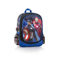 Heys Marvel Captain America Vs. Iron Man Backpack
