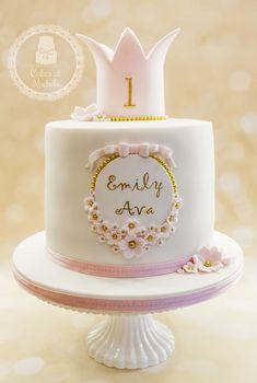 Celebration cakes for girls - Cakes at Rachel& - Torten - - Kuchen - 1st Birthday Cake For Girls, Funny Birthday Cakes, Adult Birthday Cakes, Birthday Cupcakes, Bolo Minion, Bolo Tumblr, Bolo Fack, Baby Girl Cakes, Celebration Cakes
