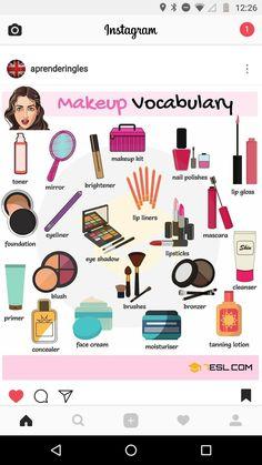 MakeUp Vocabulary