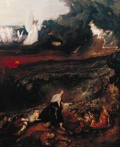John Martin - The Last Judgement (detail)