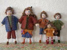 felt dolls dollhouses - Buscar con Google