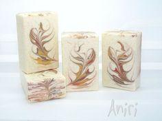 Marzipan - handmade Cold Process soap #soApbyAniri