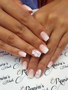 Gel Nail Designs, Nails Design, 3d Nails, Nail Art, Wedding, Beauty, Ongles, Valentines Day Weddings, Nail Arts