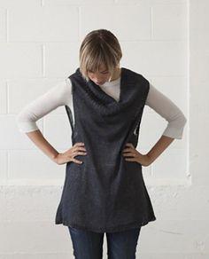Leigh Radford Jane's Tunic Tank Knitting Pattern... nice idea but needs shaping (vvn) …shared by Vivikene