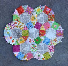 Paper piecing with Indelible, Briar Rose, and Far Far Away   Flickr - Photo Sharing!