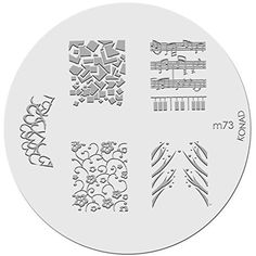Konad Stamping Nail Art Image Plate  M73 *** Be sure to check out this awesome product.Note:It is affiliate link to Amazon.