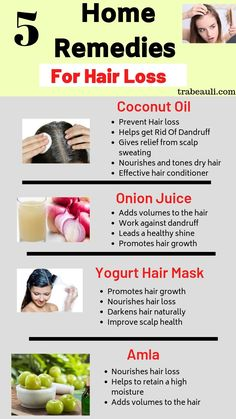 We all love to style our hair and be in trend. But Hair loss and hair thinning have become a very common problem these days. We have found natural home remedies for hair loss and hair growth at home. Read more. Baby Hair Loss, Hair Loss Cure, Stop Hair Loss, Prevent Hair Loss, Hair Remedies For Growth, Home Remedies For Hair, Hair Loss Remedies, Natural Home Remedies, Hair Fall Remedy