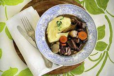 Burgundinpata on mainio talviruoka viikonlopun ruokapöytään.