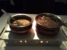 Classic Indian dishes at the Cavalry Club