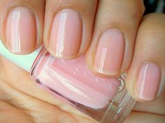 Essie's Petal Pink is nearly sheer with only a hint of blush. Perfect for event days when my manicure is bound to chip...