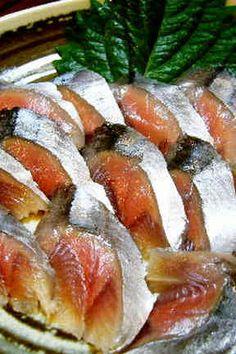 生食サンマ(刺身~酢〆)