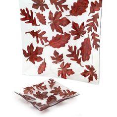 Maple Leaf Plate (Set of 2)