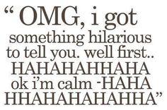 hahaha i do this all the time.