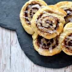In an ideal world, I& eat pastry for breakfast every morning and these easy cinnamon swirls make that dream a little closer to reality! Uk Recipes, Brunch Recipes, Pastry Recipes, Fudge Recipes, Brunch Ideas, Baking Recipes, Cookie Recipes, Vegetarian Recipes, Recipies