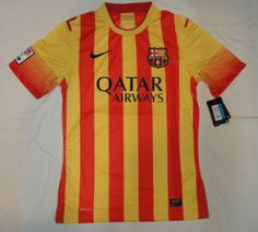 13/14 Barcelona away jersey Thailand quality and wholesale price for football jerseys. please contact with us, cnxytrade86@hotmail.com