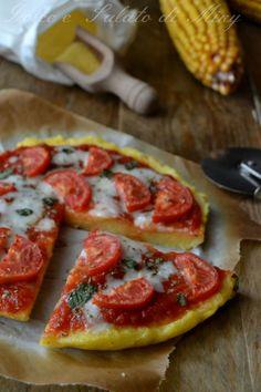 ricetta pizza di polenta | Dolce e Salato di Miky