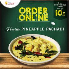 ORDER ONLINE & GET 10% OFF Website - www.hotelsunny.in For reservation:2522-5616/3549 #hotelsunny #tasteofmumbai #offer #keralafood #tasteofkerala #veg #mumbai #mymumbai #keralaveg #foodie #yum #yummy #orderonline #homedelivery #delivery #fooddelivery #zomato #kerala #tastyfood #pineapplepachadi #bandra #dadar #kurla #tasty
