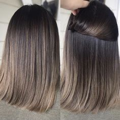 Charcoal hair tone You are in the right place about Hairstyle for school waves Here we offer you the Cool Tone Brown Hair, Brown Hair With Blonde Highlights, Brown Hair Balayage, Balayage Brunette, Light Brown Hair, Hair Color Balayage, Brunette Hair, Hair Highlights, Balayage Straight Hair