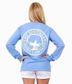Seaside Logo Tee L/S - Long Sleeve - Shop | The Southern Shirt Company