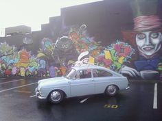 Alice in Wonderland - Graffiti - VW Fastback