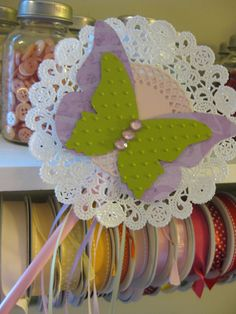 Vintage Haven Studio: Butterfly Fairy Wand Tutorial