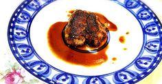 下手なフォアグラよか遥かに旨い! 鶏レバーのフォアグラ風ソテー☆ 鶏油の香ばしさとレバーのクリーミーさが絶妙です^ ^